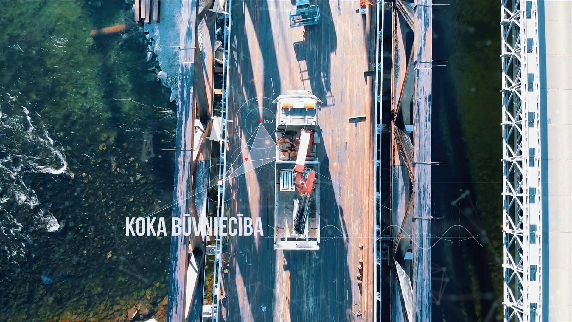 Koka būvniecība Latvijā