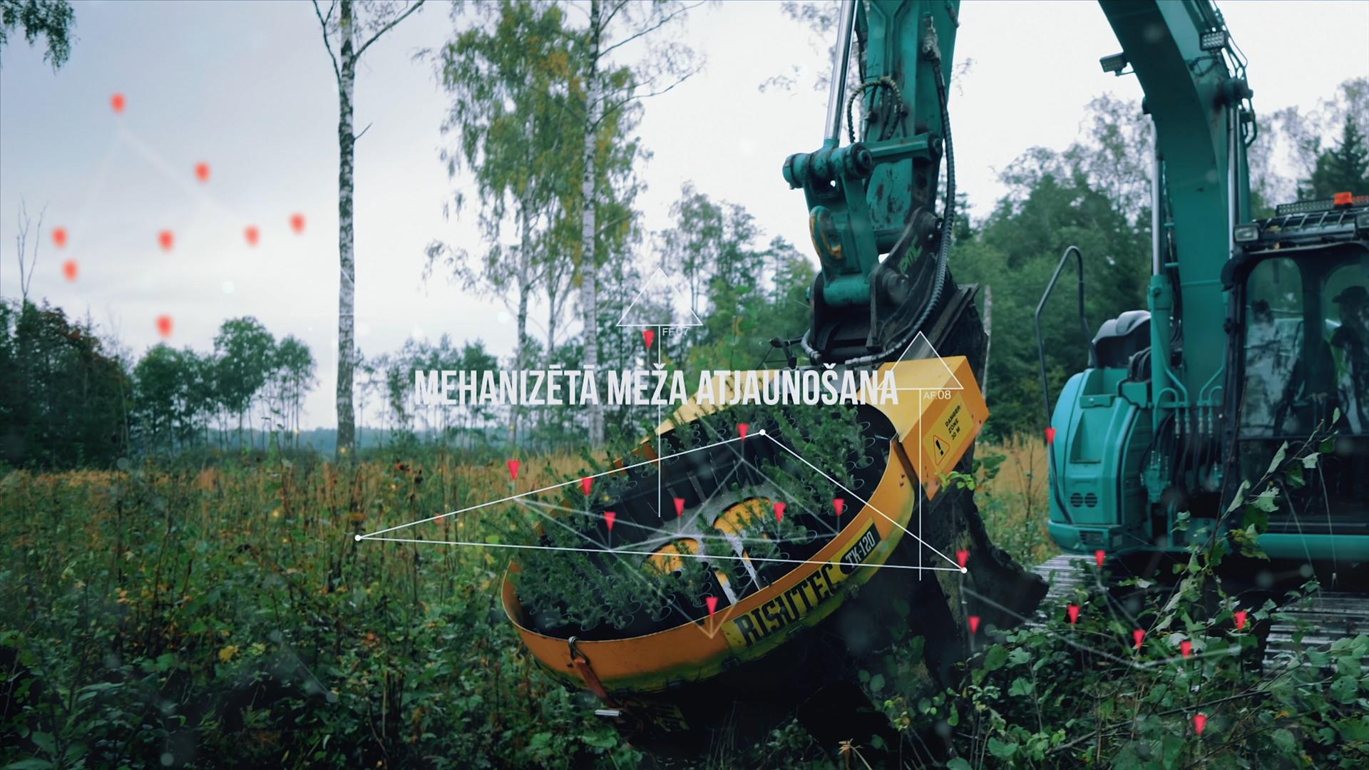Mehanizēta meža atjaunošana