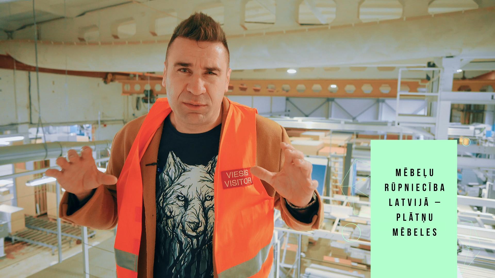 Mēbeļu rūpniecība Latvijā: Platnu mēbeles